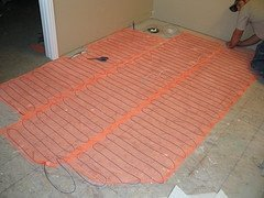 Heated floor technology