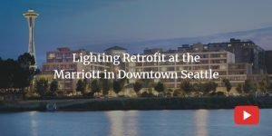 lighting retrofit at the marriott