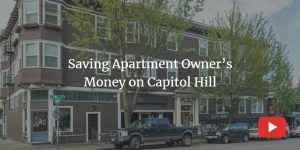 saving apartment owners money on capitol hill